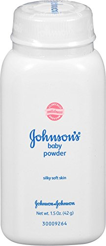 JOHNSON'S Baby Powder, Travel Size 1.50 oz (Pack of 6)