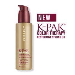 K-Pak Color Therapy Restorative Styling Oil from Joico 3.4 fl. oz.