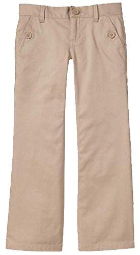 GAP Kids Girls Khaki Boot Cut School Uniform Pants 16 ()