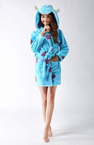 Lounge Mujer Larga Envoltura Para Baño De Invierno Suave Otoño Albornoz Manga Dormir Ysfu Pijamas Hogar Albornoces Ropa Bata wxCYTqU