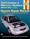 Ford Contour and Mercury Mystique, 1995-2000, Mark Jacobs and John Haynes, 1563923998