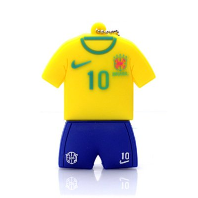 31c036b0c2e 16GB USB 2.0 Soccer Jersey Model Brazil - Buy 16GB USB 2.0 Soccer Jersey  Model Brazil Online at Low Price in India - Amazon.in