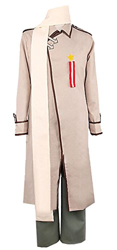 Vicwin-One Axis Powers Hetalia Iwan Russia Cosplay Uniform Suit Outfit Custom Made L -
