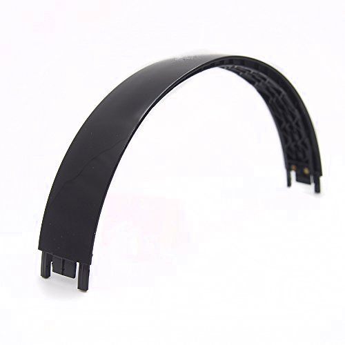 Black Replacement Headband top parts for Monster Beats by Dre Solo 2.0 Wired Headphone repair