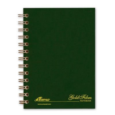 Ampad Gold Fibre Personal Compact Notebook (Gold Fibre Personal Compact Notebooks)