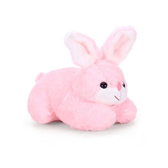 Babique Richy Toys Plush Cute Rabbit Soft Toys (Pink, 26 cm)