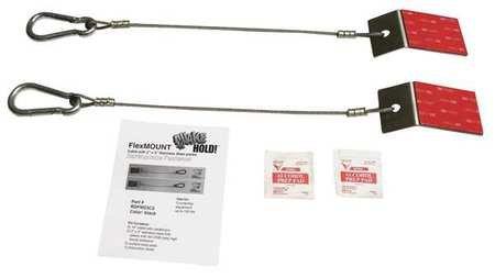 Flex Mount Fastener Silver 200 Lb