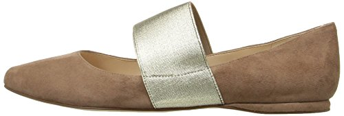 Pictures of Nine West Women's Seabrook Suede Ballet Flat 5 M US 5