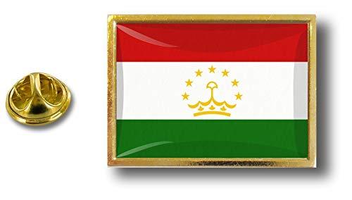 Pin Badge in Tagikistan Pin Flag Pin Akacha Perno metallo Tagikistan PwRXYqn4