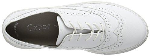 Scarpe Donna Gabor da Ginnastica White Bianco Leather Shay Basse f5HHwxrpq