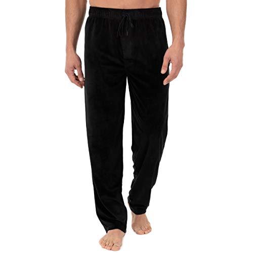 Jockey Men's Velour Knit Lounge Pant, Peacoat, Medium