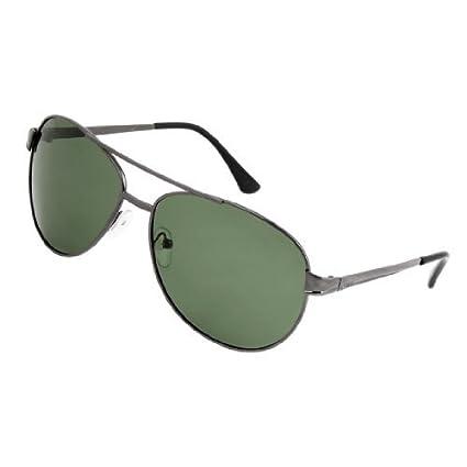 eDealMax El Hombre del brazo de Metal de lágrima de la lente de gafas de sol