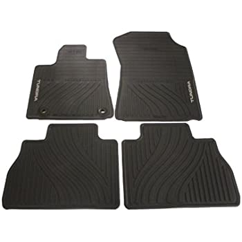 Kagu Rubber 3D MAXpider Front Row Custom Fit All-Weather Floor Mat for Select Toyota Tundra Models Black