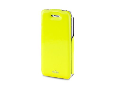Puro IPC5VIPYEL Custodia Flipper per Iphone 5 Vip Giallo