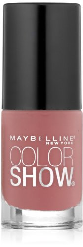Maybelline New York Color Show Nail Lacquer, Pink and Proper, 0.23 Fluid Ounce (Nail Polish Maybelline Color Show compare prices)