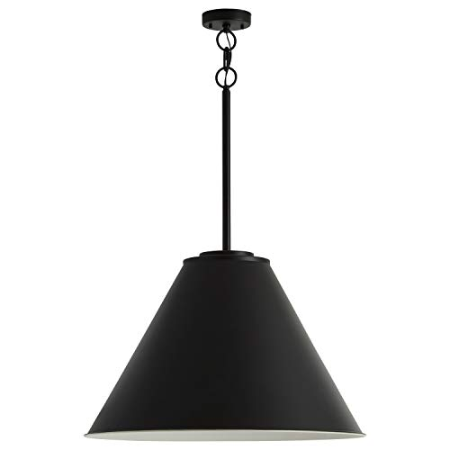 - Stone & Beam Vintage Large-Format Pendant Light with Bulb, 30