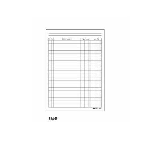 Edipro' - Libro Cassa E2649 F.To A6 Edipro'