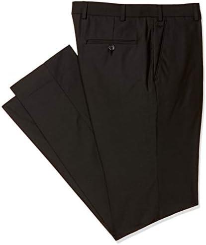 Park Avenue Men's Flat Front Super Slim FIT Pants Skinny