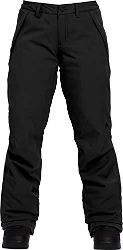 Burton Women's Society Snow Pant Regular, True Black W19, Medium (Snowboard Black Pants)