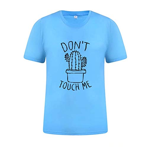 (YKARITIANNA Women 2019 Summer Funny Print Short Sleeve Top Tee Graphic Cute T-Shirt)