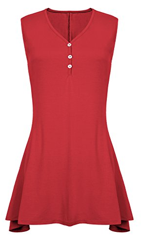 Urban CoCo Womens Sleeveless Shirts product image