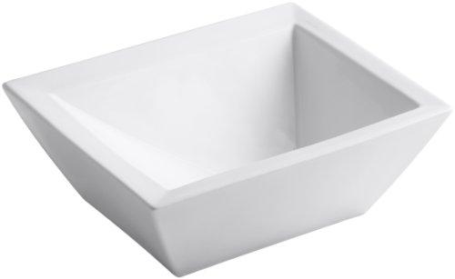 KOHLER K-2273-0 Bateau Vessels Above-Counter Bathroom Sink, White