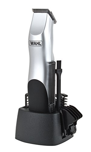 Wahl 9906-2017 Silver Groomsman Battery Hair, Beard and Moustache Trimmer...