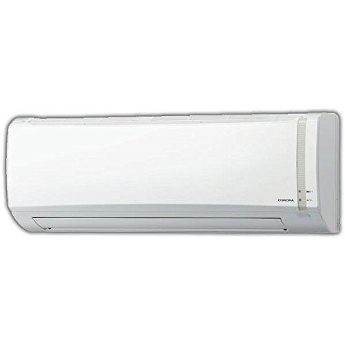 コロナ 【標準設置工事費込み】8畳向け 冷暖房インバーターエアコン ホワイト CSH-N2518R(W) S