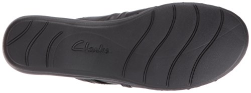 Leisa Mule Clarks Bliss Leather Black Women's 5TgYYUqw0