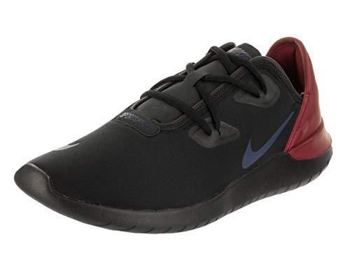 5a1e976e0bec Nike Men s Hakata Black Navy Red Crush Running Shoe 8.5 Men US