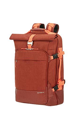 SAMSONITE Ziproll - Duffle/Backpack Small - Three-Way Boardcase Koffer, 55 cm, 50 Liter, Burnt Orange