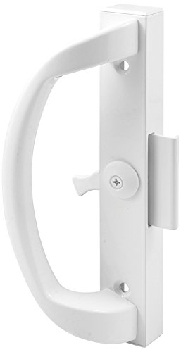 Prime-Line Products C 1263 Clamp Type Sliding Door Latch, White (Types Of Patio)