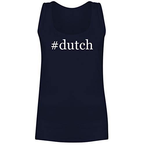The Town Butler #Dutch - A Soft & Comfortable Hashtag Women's Tank Top, Navy, X-Large (Tramontina 6-5 Qt Cast Iron Dutch Oven)