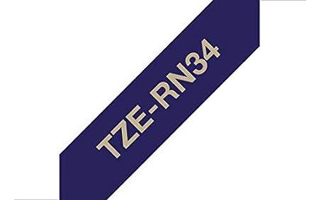 24 mm Brother TZE451 Nastro Laminato Nero//Rosso