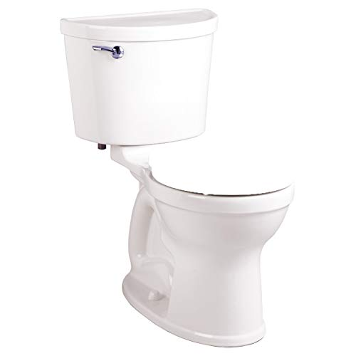 American Standard 211BA.104.020 Champion PRO Right Height 12-Inch Rough-In Round Front Toilet Combination Less Seat, White