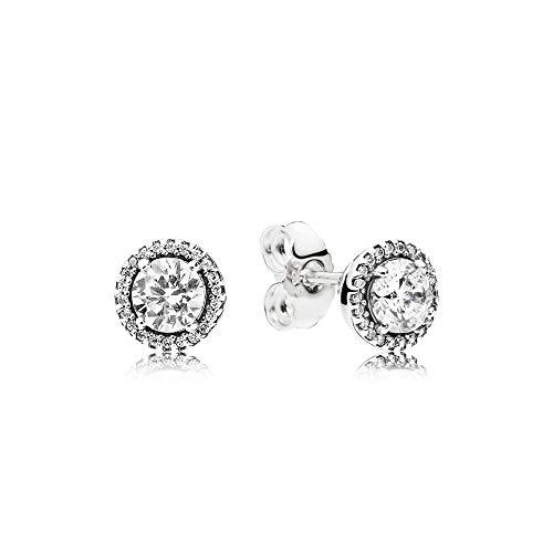 Pandora Women Silver Stud Earrings - 296272CZ