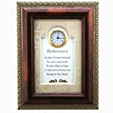 Sweet Reward Clock - Retirement Gift for a Man or Woman