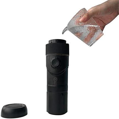 Cafetière portable Une touche pour infuser Fonction Maintien au Chaud Brassage rapide Opération One Touch 80ml 80W Capacité de prise de café