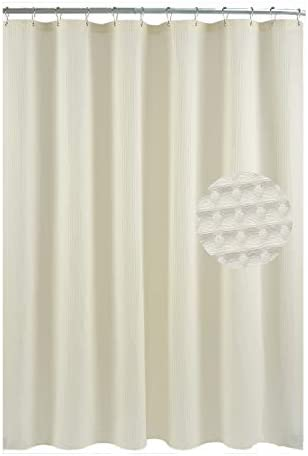 Waffle Fabric Shower Curtain Heavyweight product image