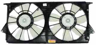 06 buick lucerne radiator fan - 9