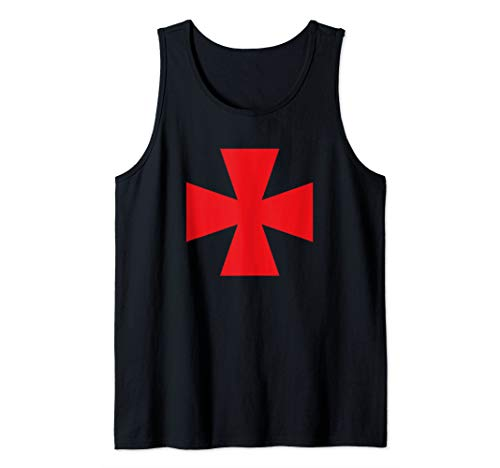 Knight Templar Red Maltese Cross Halloween Costume
