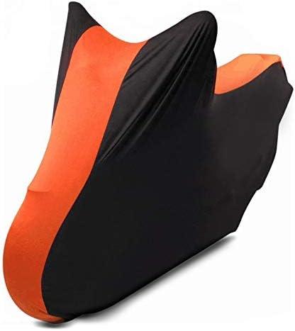 Motorrad-Abdeckung f/ür Ducati Diavel//S XL Indoor Schwarz-orange