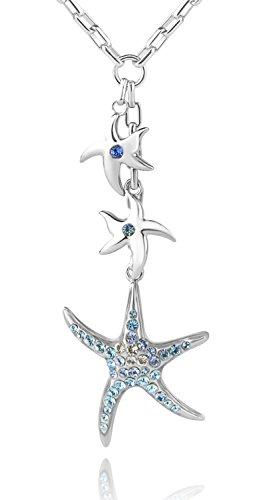 Starfish Pendant Charm Necklace - 4