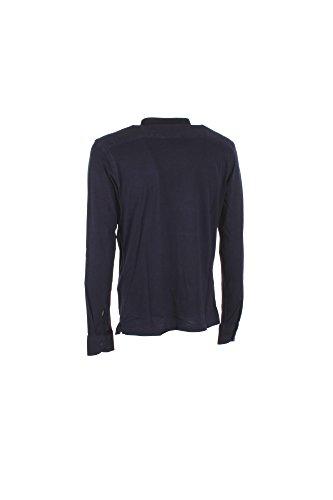 Camicia Uomo Vincenzo Bucci XL Blu V17809njt Primavera Estate 2017