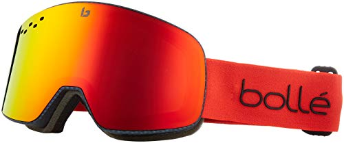 2013 Snowboard Goggles - Bolle Performance: Nevada Matte Carbon Diagonal Sunrise