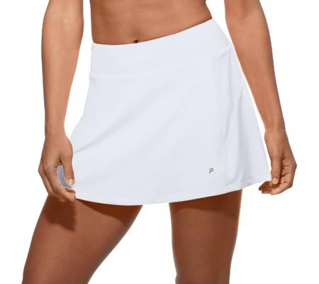Fila Women's Core A-Line Tennis Skorts, White, (Womens Basic Skort)