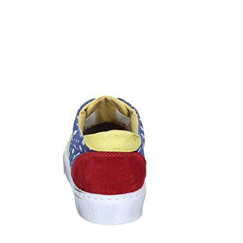 2 STAR , Damen Sneaker Giallo / Blu