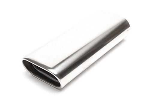 TA Technix Endrohr Edelstahl universal 70x140mm flach/oval