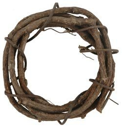 (Bulk Buy: Darice Grapevine Wreath 6