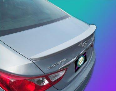 Hyundai Sonata Rear Spoiler 2011 2012 - Stealth Style - Painted - FHM Hyper Silver (Hyper Wings Rear Spoiler)